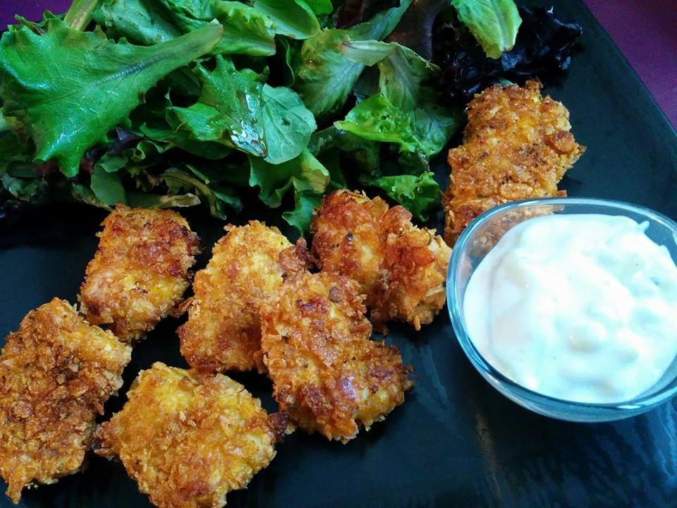 Nuggets de poulet au corn flakes