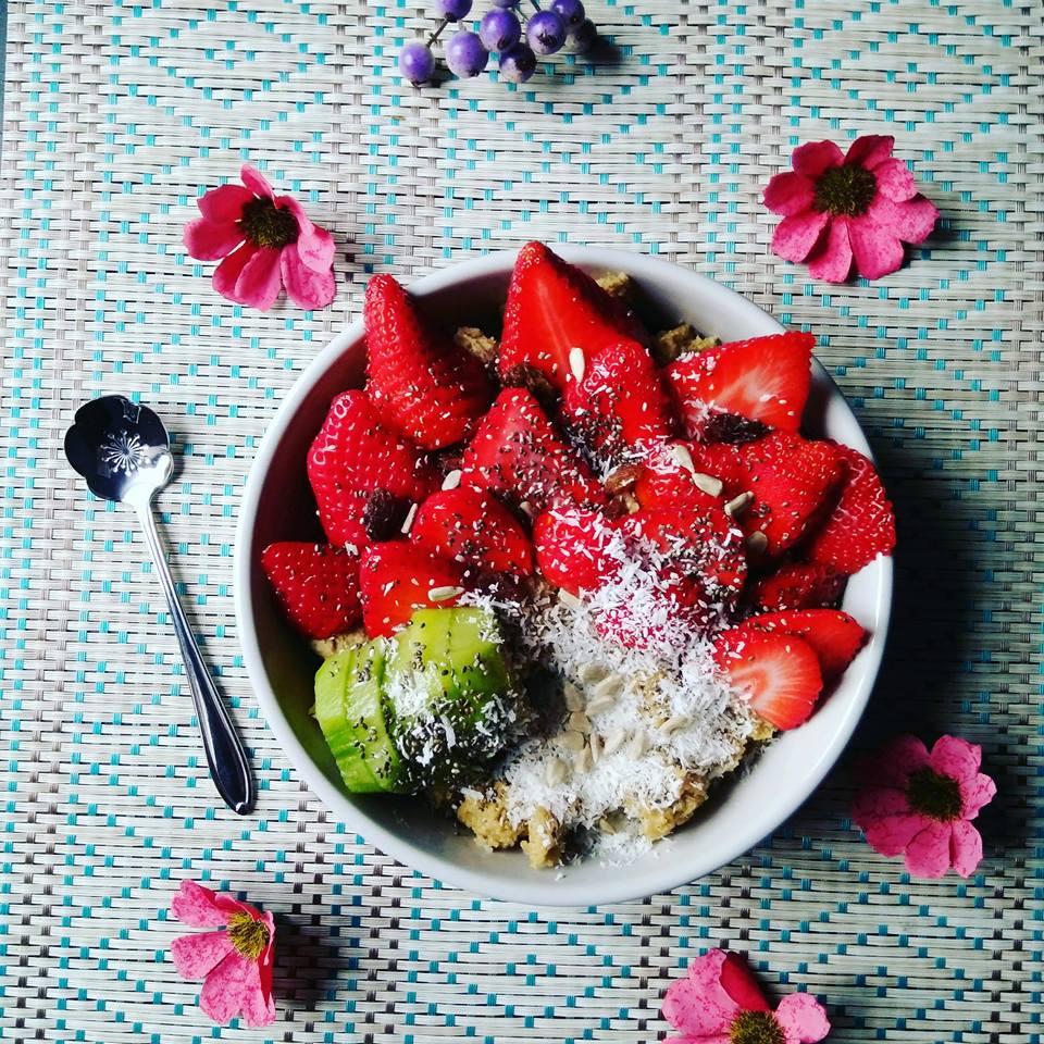 Avoinebowl fraise kiwi