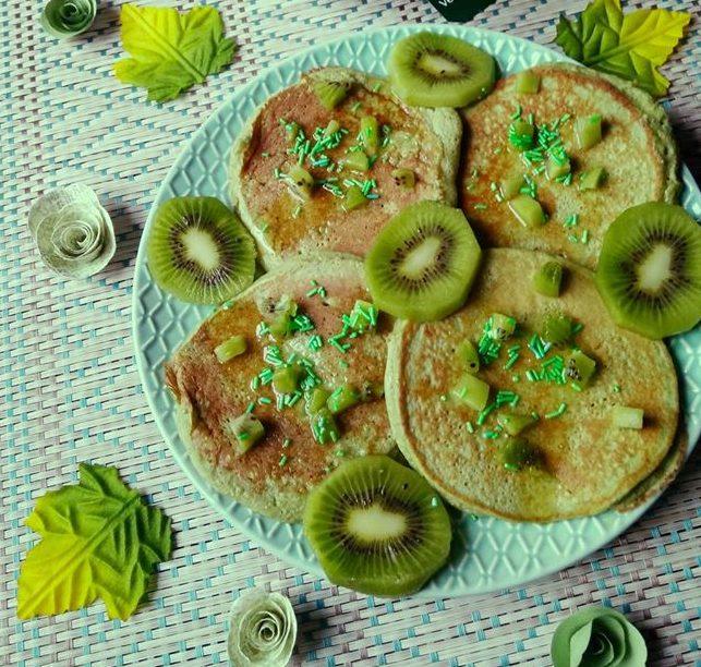 Saint Patrick pancakes au pandam