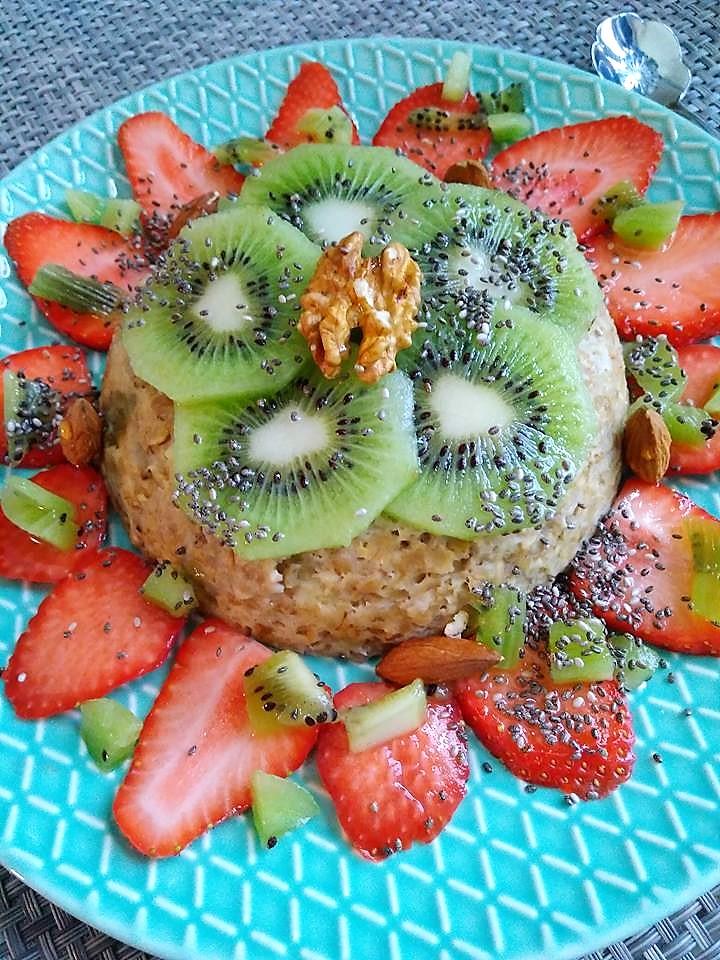 Bowlcake fraises kiwi VIDÉO