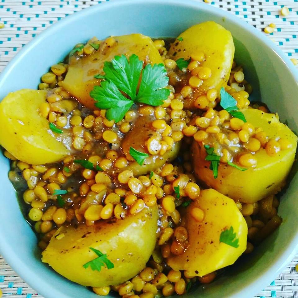 Curry de pommes de terre VIDÉO