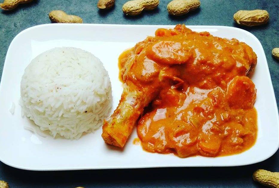 Cuisse de poulet sauce mafé