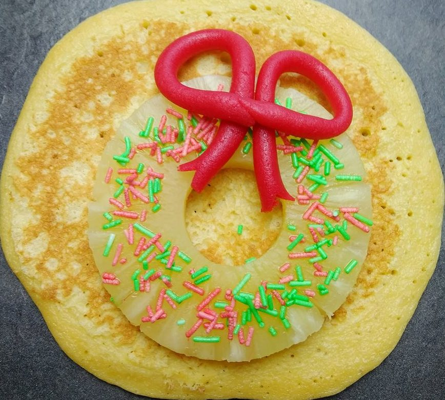 Pancakes de noël