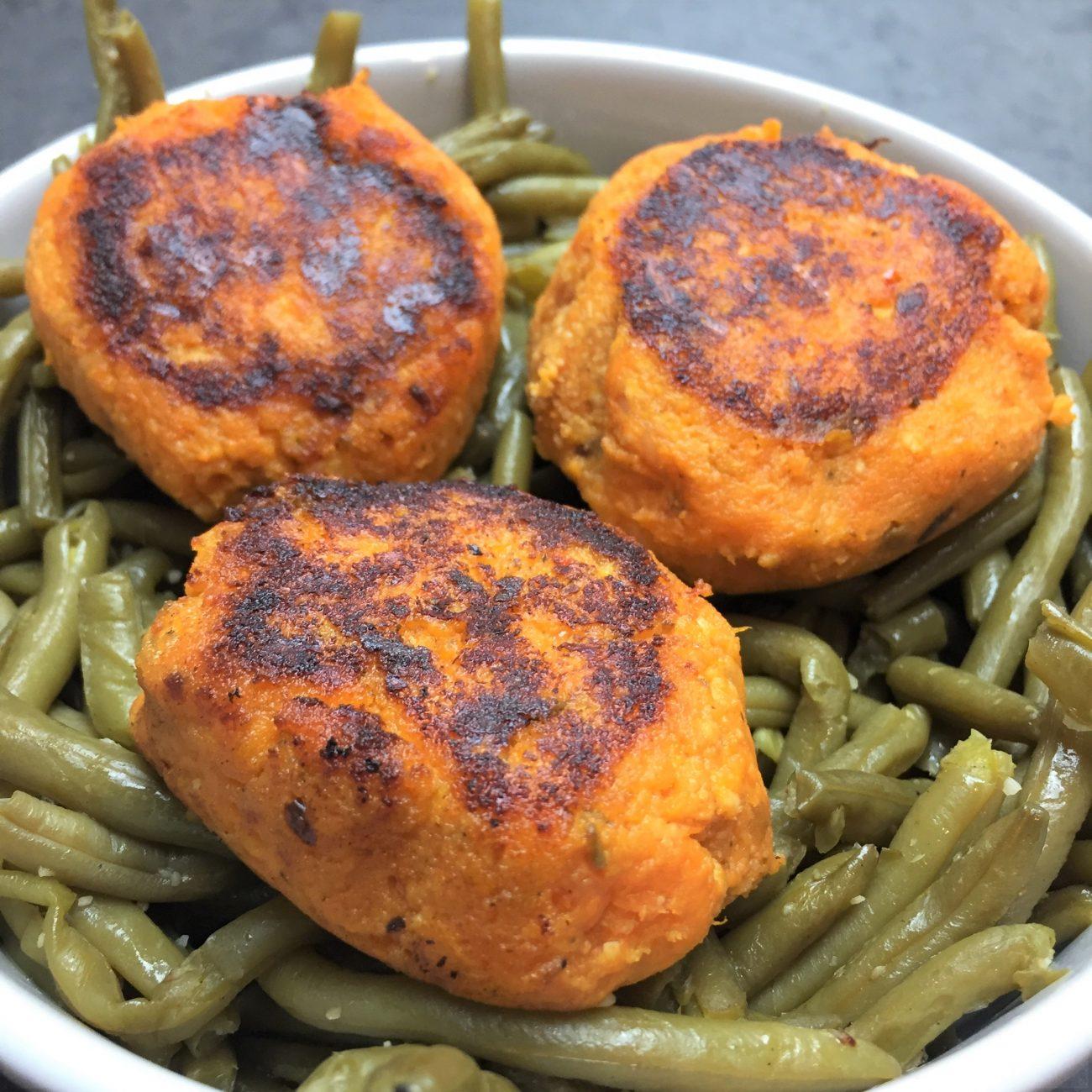 Croquette de patate douce