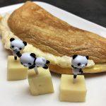 Omelette fluffy