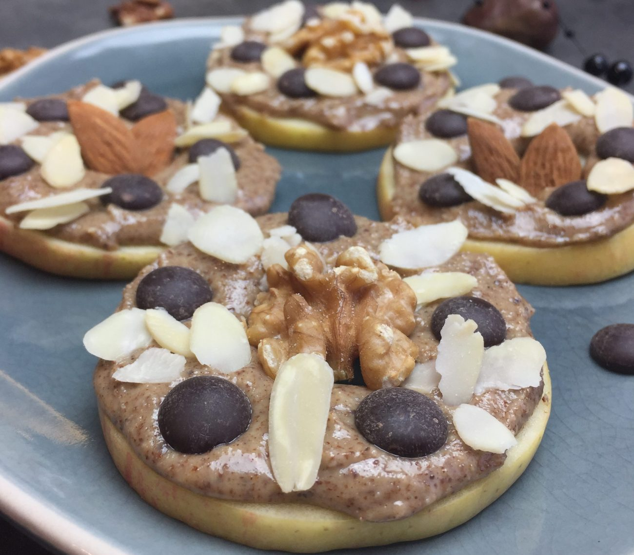 «Donut» de pomme & beurre d'amande