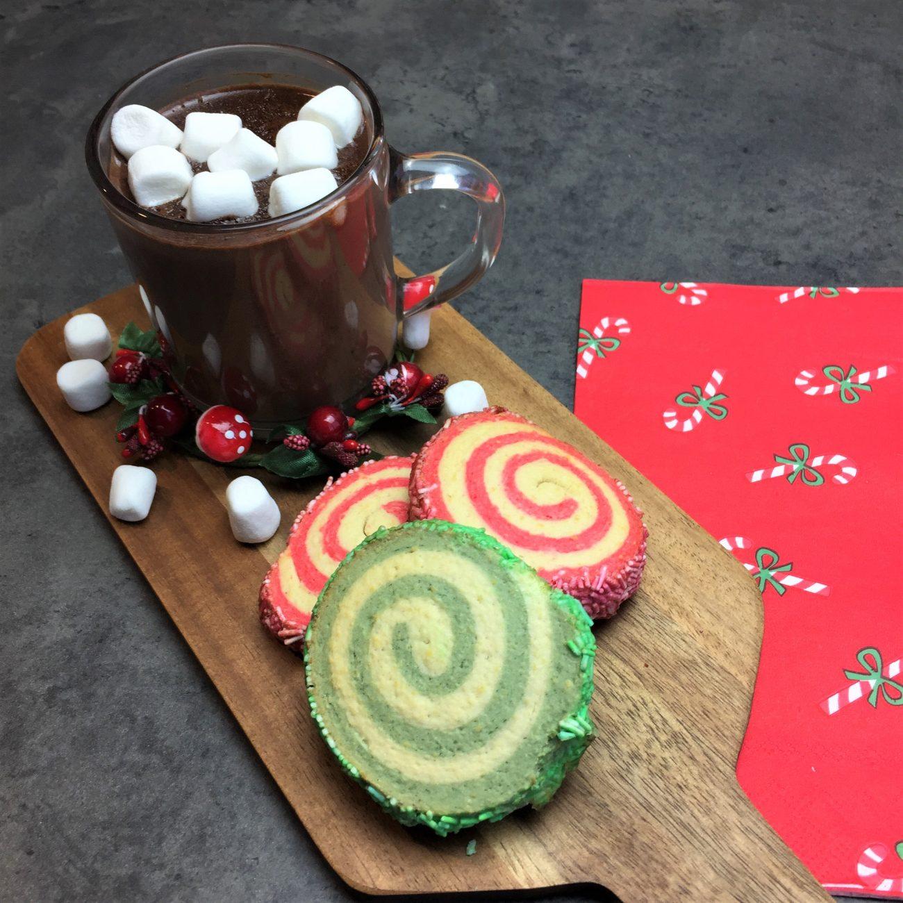 Biscuits roulés de Noël