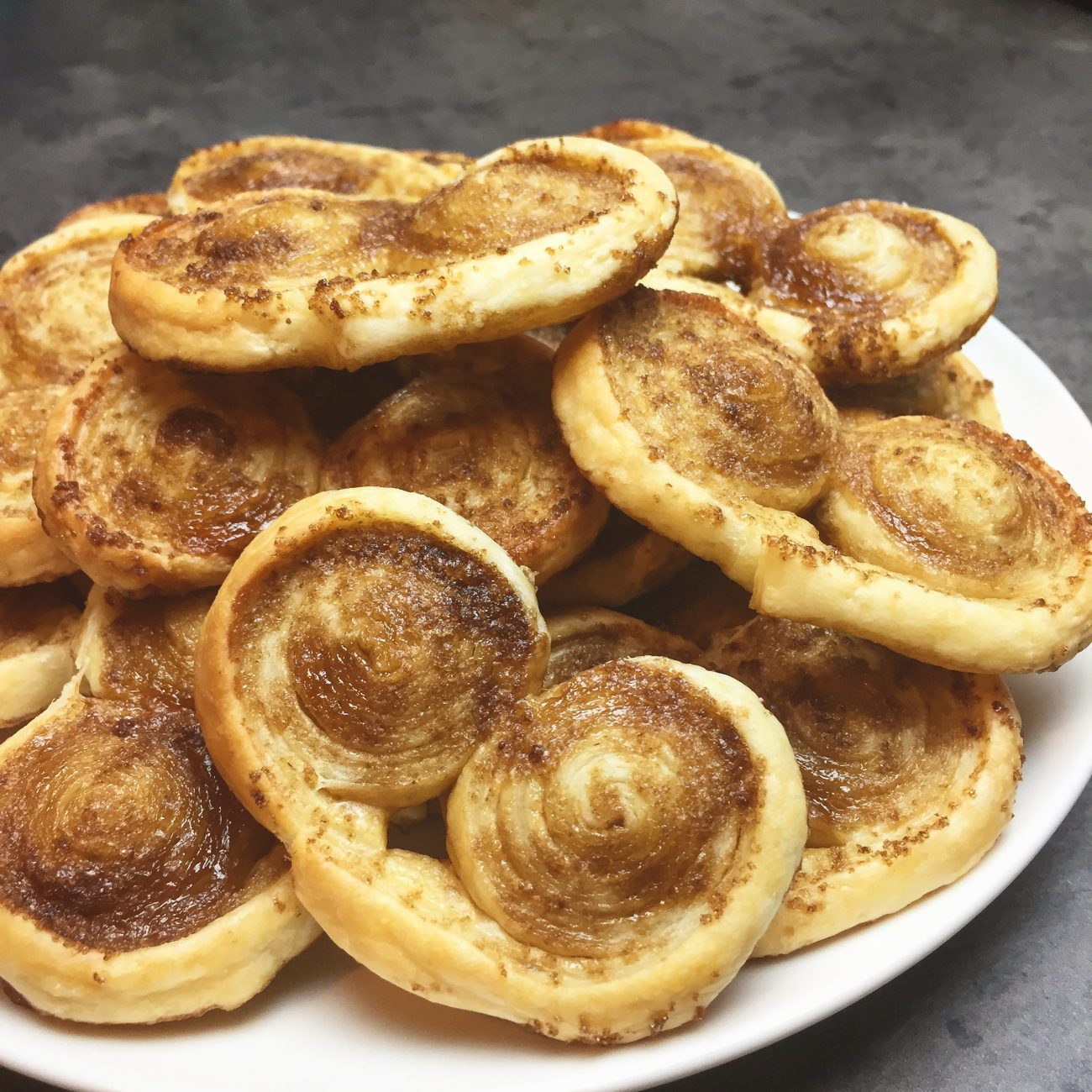 Biscuits palmier