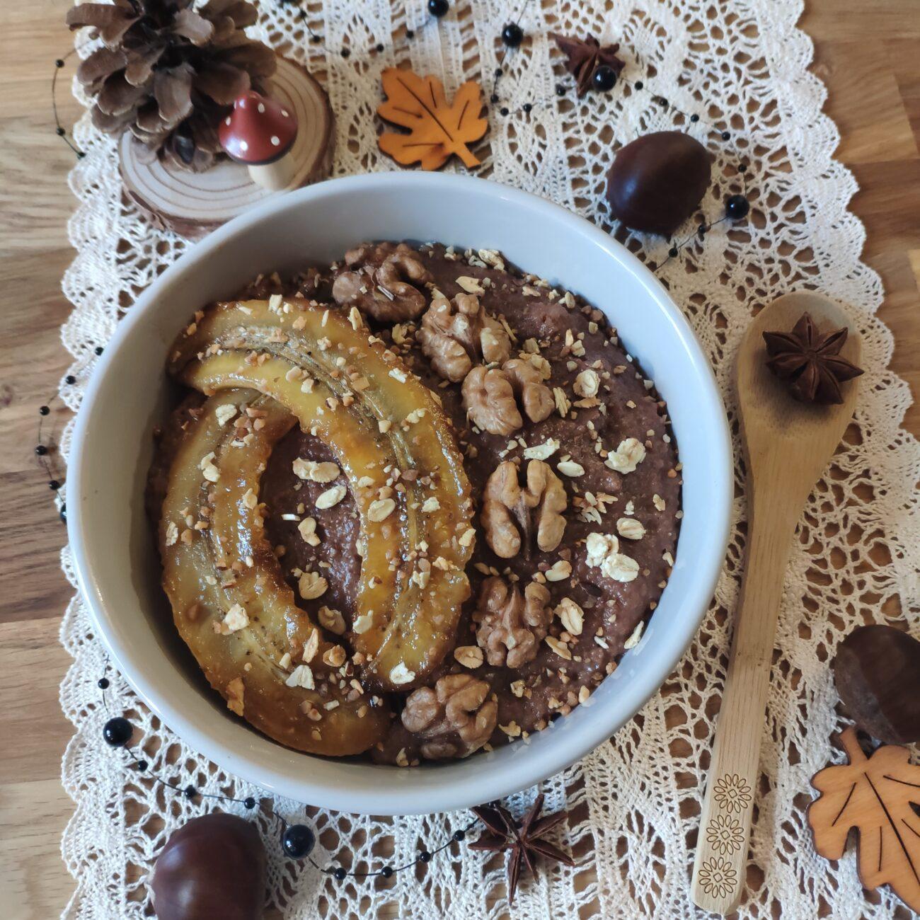 Porridge floraline chocolat
